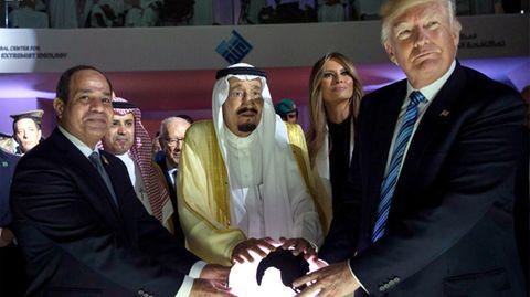 Donald Trump in Saudi-Arabien