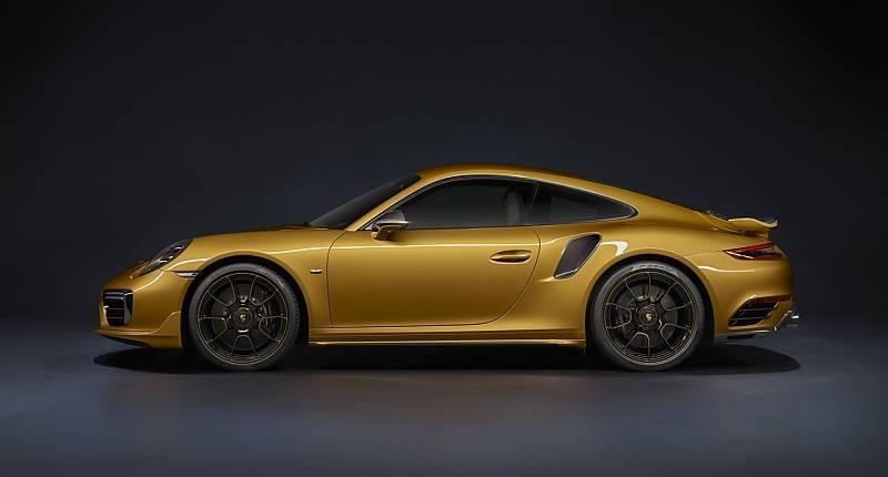 Porsche 911 Turbo S Exclusive Series - gibt es nicht nur in goldgeld