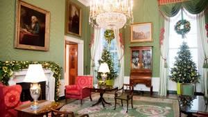 Green Room im Weißen Haus