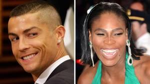 Cristiano Ronaldo und Serena Williams - laut Forbes die Top-Verdiener im Weltsport