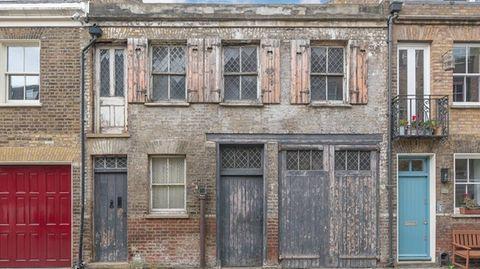 Dieses Haus ging unberührt durch die Jahrzehnte.