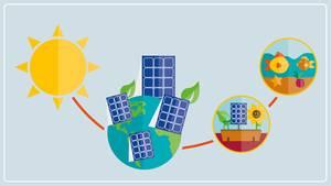 Die Energie der Sonne versorgt die Welt mit Strom - auch fürs Aquarium