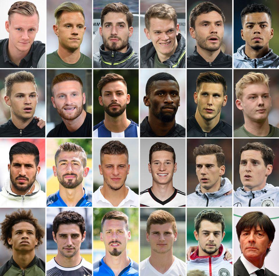 Bildcombo Deutsches Aufgebot für den Confed Cup