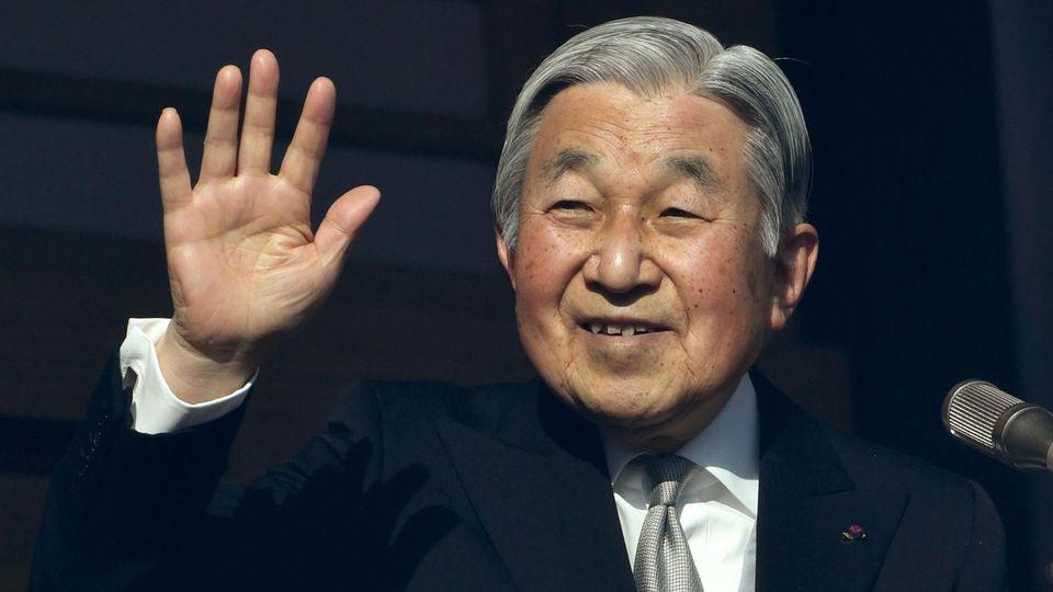Japans Kaiser Akihito sitzt seit fast 30 Jahren auf dem Thron