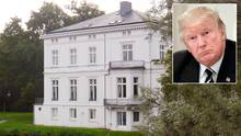 Ist das die Unterkunft von Donald Trump während des G20-Gipfels in Hamburg?