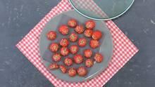 Johannisbeer-Kuchen-Praline