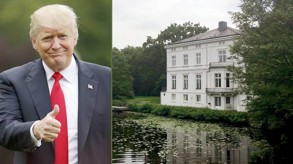 Hamburg: Hier soll Donald Trump während des G20-Gipfels schlafen