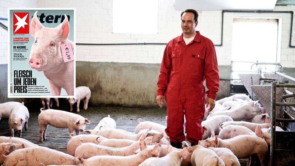 6 Fragen an einen Schweinebauern: Was ein Landwirt davon hält, wenn sein Fleisch für wenige Euro verramscht wird