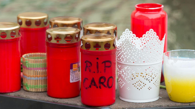 Gedenkstätte für vergewaltige und ermordete Joggerin Carolin G.