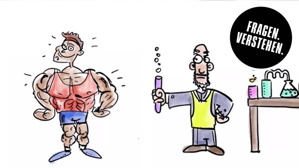 Sportler Doping