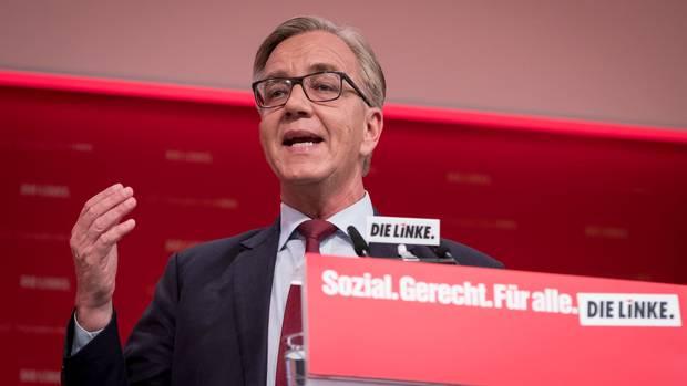 Dietmar Bartsch auf dem Linke-Parteitag