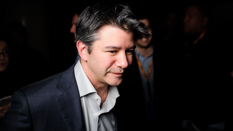 Uber-Chef Travis Kalanick
