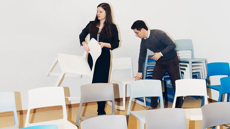 Aufregend sei es, wenn sie das Gefühl habe, etwas zu bewegen, sagt Zoe, hier bei einem Treffen Effektiver Altruisten in München