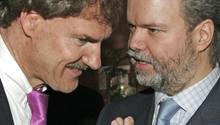 Carsten Maschmeyer (l.) und Utz Claassen