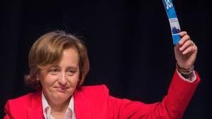 Die AfD-Politikerin Beatrix von Storch wurde schon mehrfach Opfer von Tortenattacken (Archivbild)