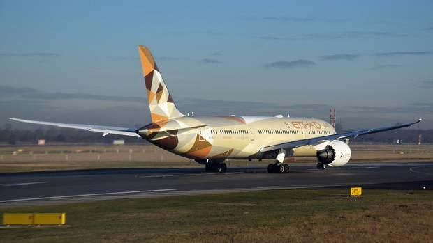 Boeing 787 von Etihad