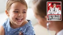 Bauchschmerzen und eine heisere Stimme plagten ein Mädchen jahrelang - ein Mediziner stellte schließlich die richtige Diagnose (Symbolbild)