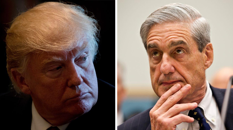 """US-Präsident Donald Trump erwägt einem Freund zufolge """"die Sonderermittlungen"""" von Robert Mueller """"vielleicht zu beenden"""""""