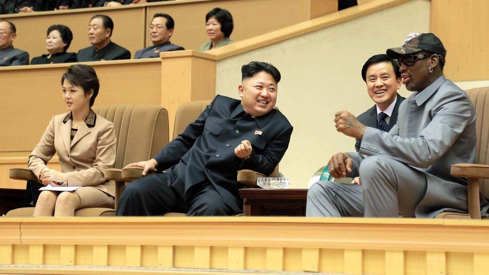 Dennis Rodman in Nordkorea