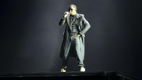 """Sean """"Diddy"""" Combs während einer Show in New York. Der US-Rapper landet in diesem Jahr auf Platz 1 der Forbes-Liste."""