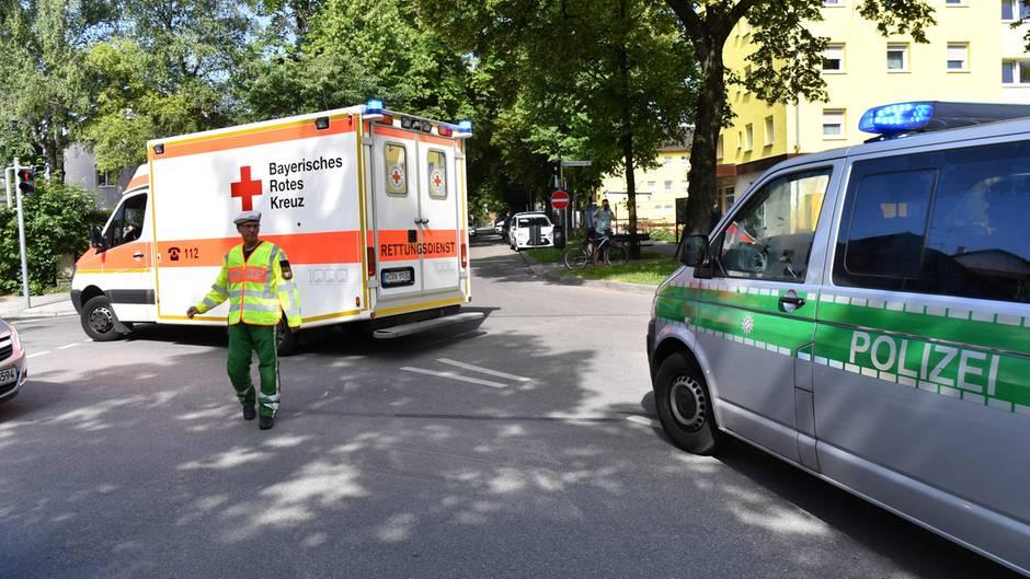 Polizeieinsatz nach Schüssen an S-Bahnhof bei München