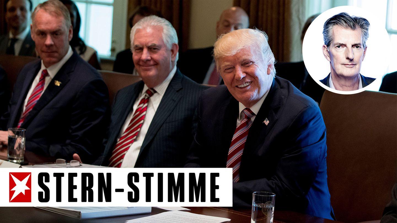 Donald Trump Kabinettssitzung