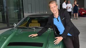 Oliver Pocher bei der Eröffnung des Maserati-Showrooms Ende Mai in München