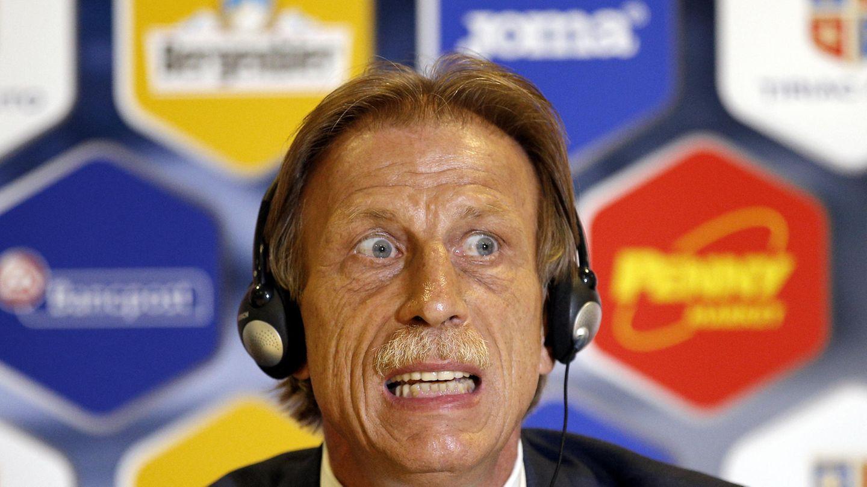 Christoph Daum ist seit Sommer 2016 Trainer des rumänischen Nationalteams
