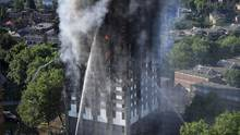 London Hochhaus Brand Grenfell Tower