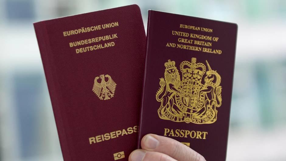 Wegen Brexit haben sich viele Briten hierzulande einbürgern lässen