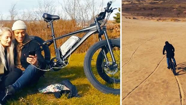 STRØM Bike aus Dänemark: Das E-Bike für jeder Gelände - das sogar Ihr Handy lädt