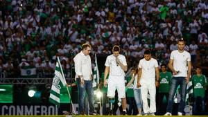 Flugzeugabsturz eines brasilianischen Fußball-Teams