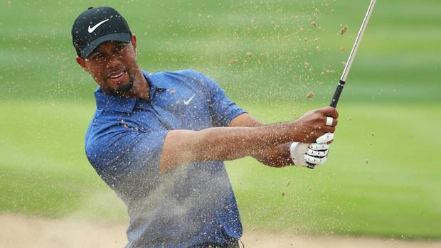 Schlag auf Schlag: Woods will zurück an die Spitze, hier bei einem Turnier im Februar in Dubai