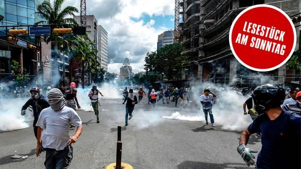 Venezuela: Massenproteste bei Schlacht um Caracas