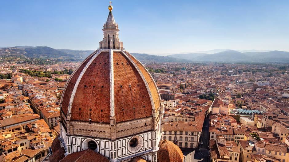 """Ein Deutscher macht derzeit """"Urlaub"""" in Florenz. Er isst, er trinkt, er zahlt nicht."""