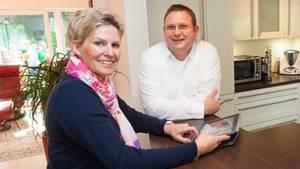 Beate und Christian Kewitsch leben in einem Smart Home - und lieben es