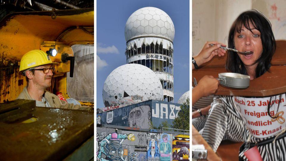 Abenteuer in Deutschland: Zehn skurrile Reise-Ziele, die Sie  bestimmt noch nicht kennen