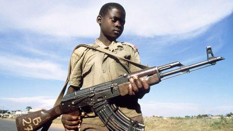 Kindersoldat der LRA
