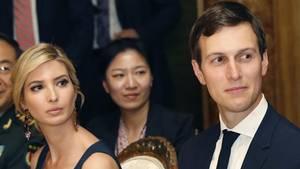 Jared Kushner und seine Frau Ivanka Trump (l.) - hier bei einem Empfang für den chinesischen Präsidenten - gehören zu den wichtigsten Beratern von US-Präsident Donald Trump