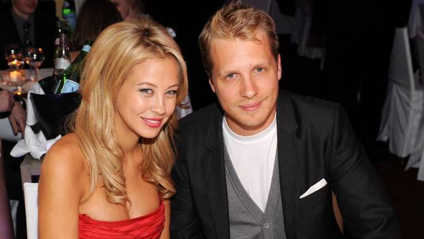 Foto aus glücklichen Zeiten als Paar, aufgenommen 2009: Oliver Pocher und seine Ex Alessandra Meyer-Wölden