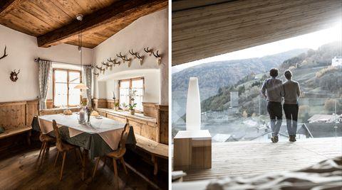 Hotels und Gasthäuser: Reisetipp Südtirol: Hier gibt es Berg-Panorama zum Frühstück