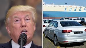 Donald Trump und deutsche Autos