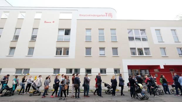 Leipzig, 13. Mai 2017: Das lange Warten auf einen Kita-Platz hat begonnen