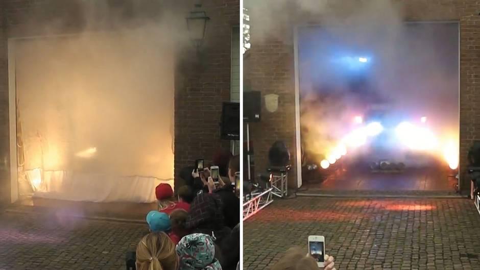 """Das """"deutscheste"""" Video aller Zeiten: Kasseler Feuerwehrauto wird zum Star auf Facebook"""