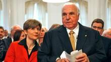 Maike Kohl-Richter und Helmut Kohl 2009 in Stuttgart