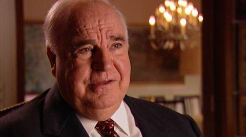 Helmut Kohl zieht Bilanz