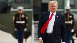 US-Präsident Donald Trump hat mehrere Hundert Millionen Dollar Schulden
