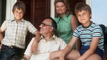 Helmut Kohl 1975 im Sommerurlaub mit der Familie: Eine heile Welt, die zerbrach