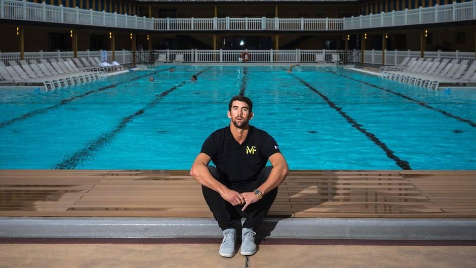 Michael Phelps will sich eigentlich nicht ausruhen