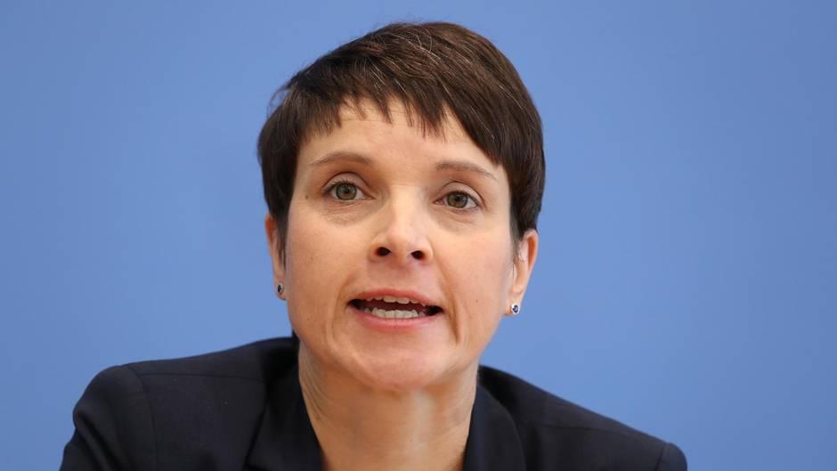 AfD-Chefin Frauke Petry (Archivbild)